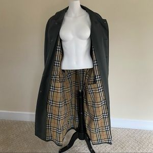 Burberry classic men's trench removable lining 40s